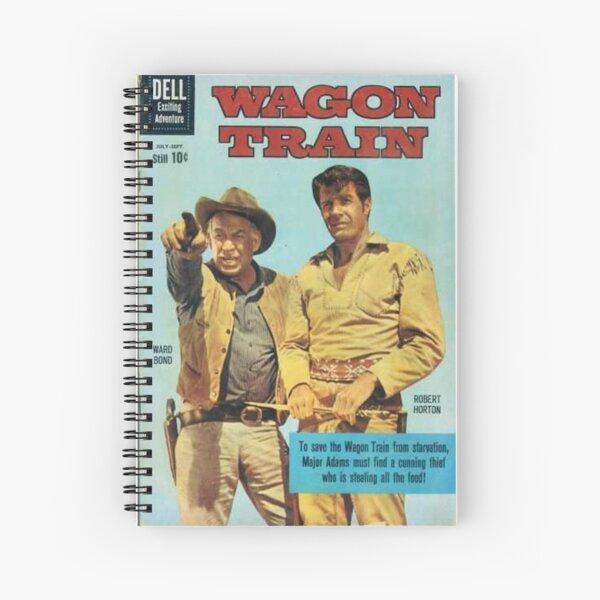 Wagon Train Spiral Notebook