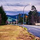 Early Morning Highway by Michael McGimpsey