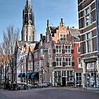 A February springday in Delft Holland  by John44