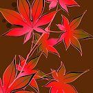 Dark Red Leaves by zhirobas