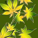 Dark Yellow Leaves by zhirobas