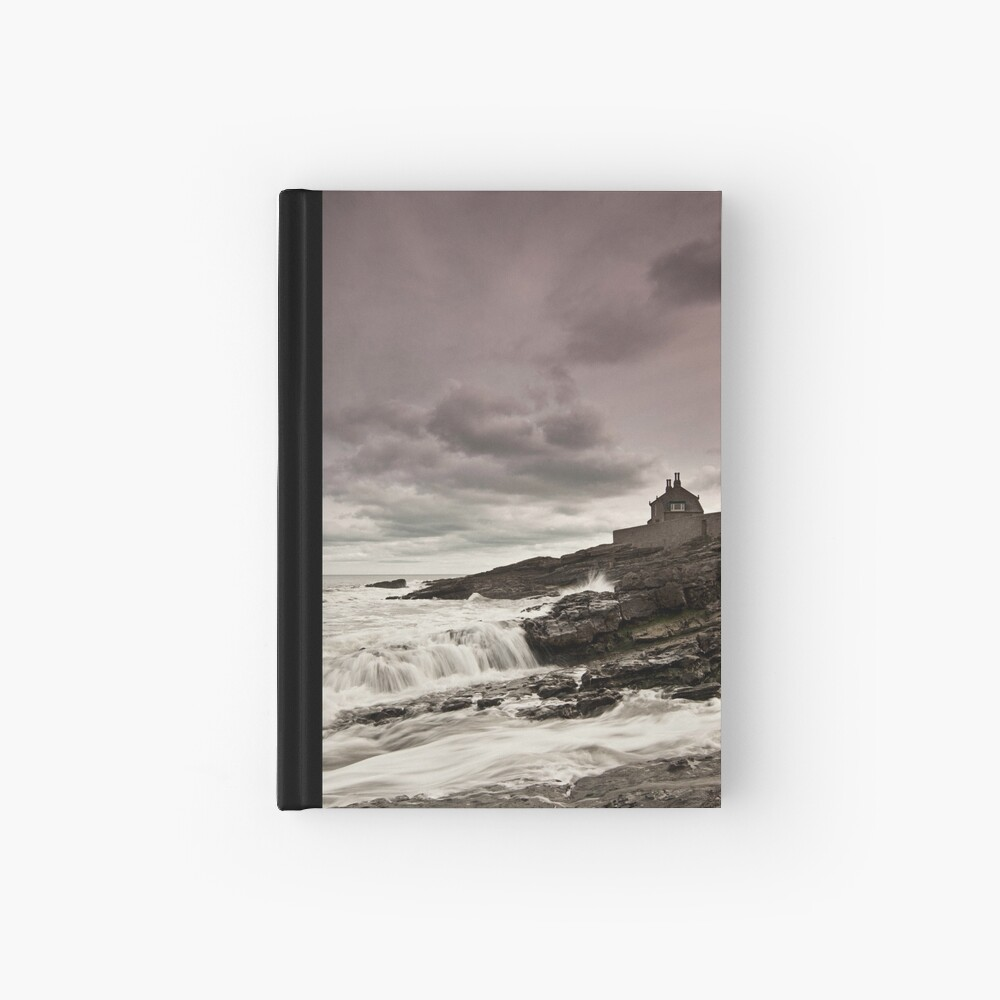 The bathing house Hardcover Journal