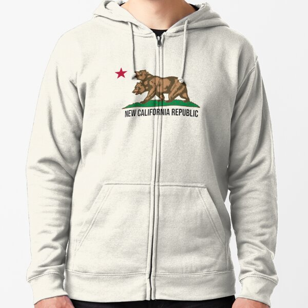 New California Republic - NCR - Fallout Fan Art Zipped Hoodie