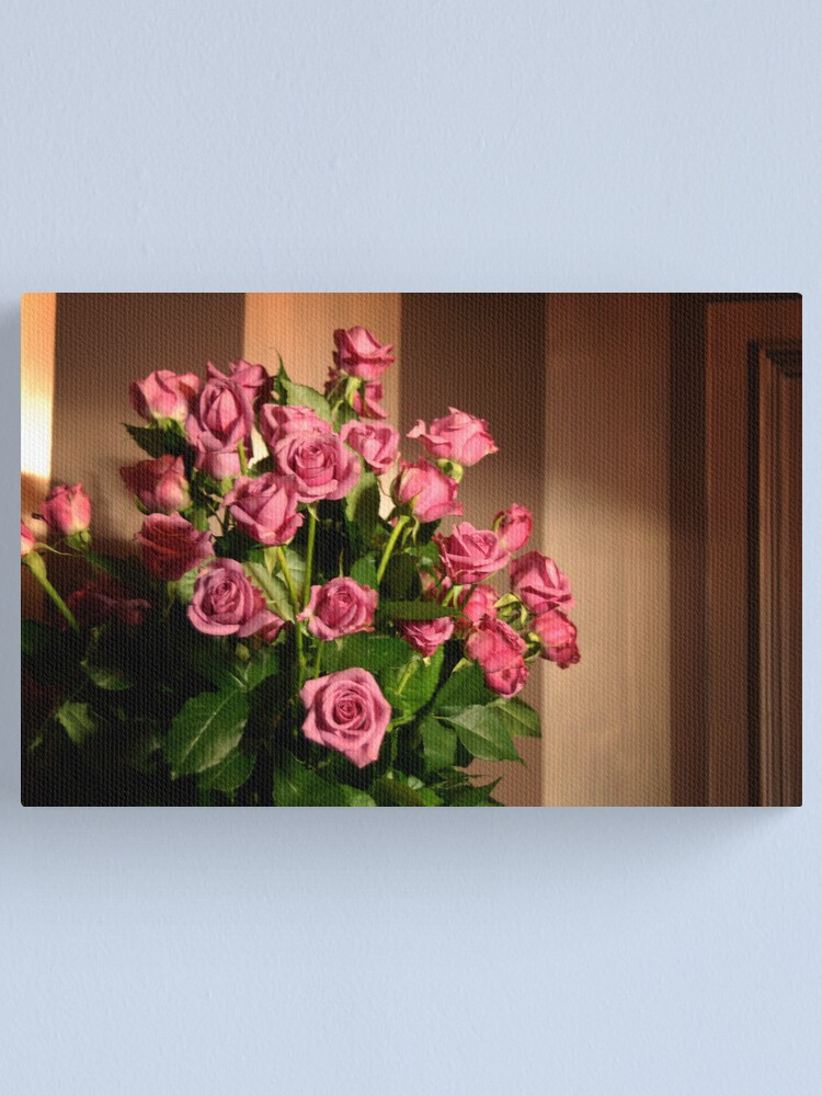 Alternate view of Roses for C.A.U.S.E. Canvas Print