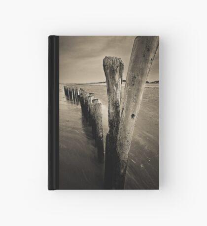 Wooden Poles Hardcover Journal