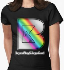 Beyond Kayfabe Podcast - New Beyond Pride Women's Fitted T-Shirt