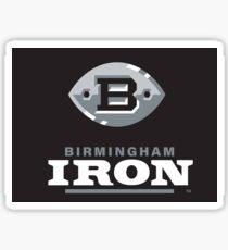 Birmingham Iron AAF Fußball Sticker