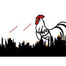 Monster Laser Beam Shooting Killer Rooster by imphavok