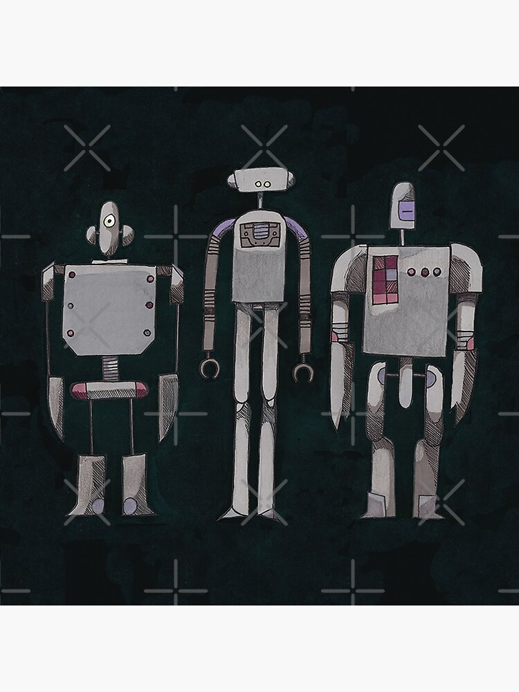 We are not Robots (The Three Amigos) by DPKLPS