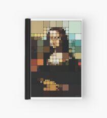 Monalisa Pixelated Hardcover Journal