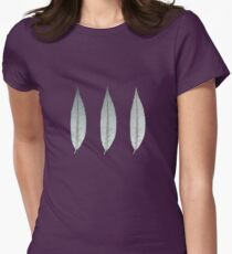 Three Leaves Womens Fitted T-Shirt