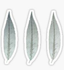 Three Leaves Sticker
