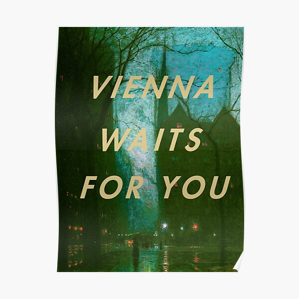 Billy joel Vienna Poster