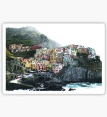 One of the villages of the Cinque Terre, Italia Sticker