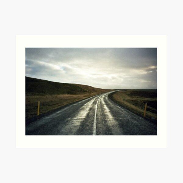 Lomo - Road nr. 1 Art Print