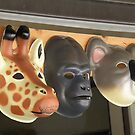 A Giraffe, A Gorilla And A Koala by AuntieJ