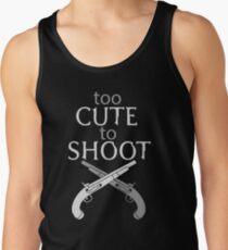 Too Cute to Shoot Men's Tank Top