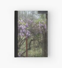 Morning Mist and Wisteria Hardcover Journal