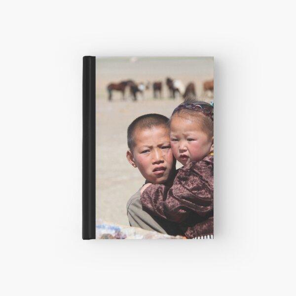 Mongolian kids Hardcover Journal