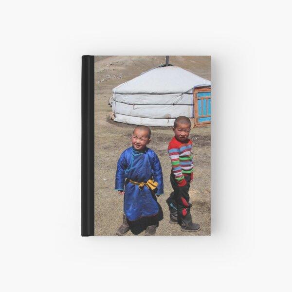 Mongolian children Hardcover Journal