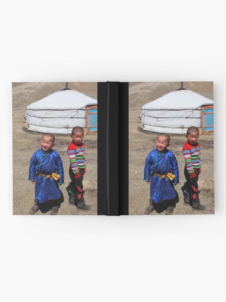 Alternate view of Mongolian children Hardcover Journal