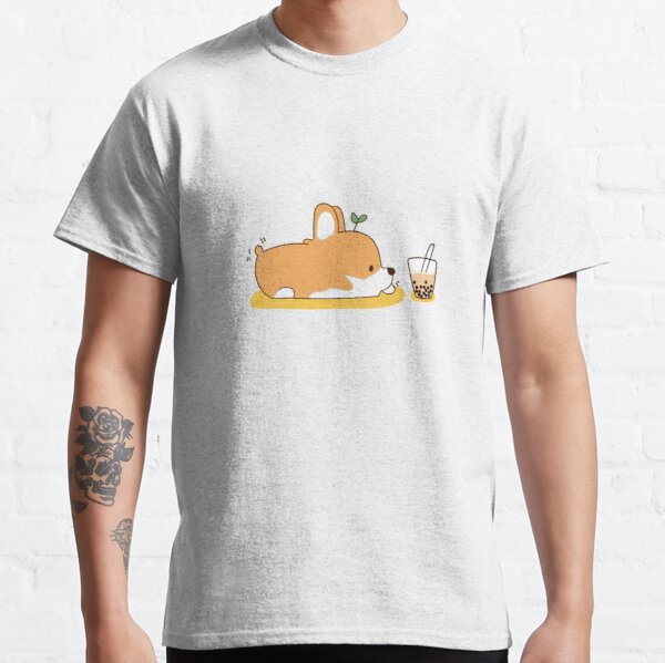 Corgi und Bubble Tea Classic T-Shirt