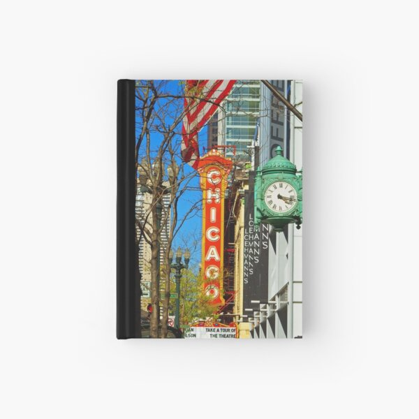 Chicago Theatre Hardcover Journal