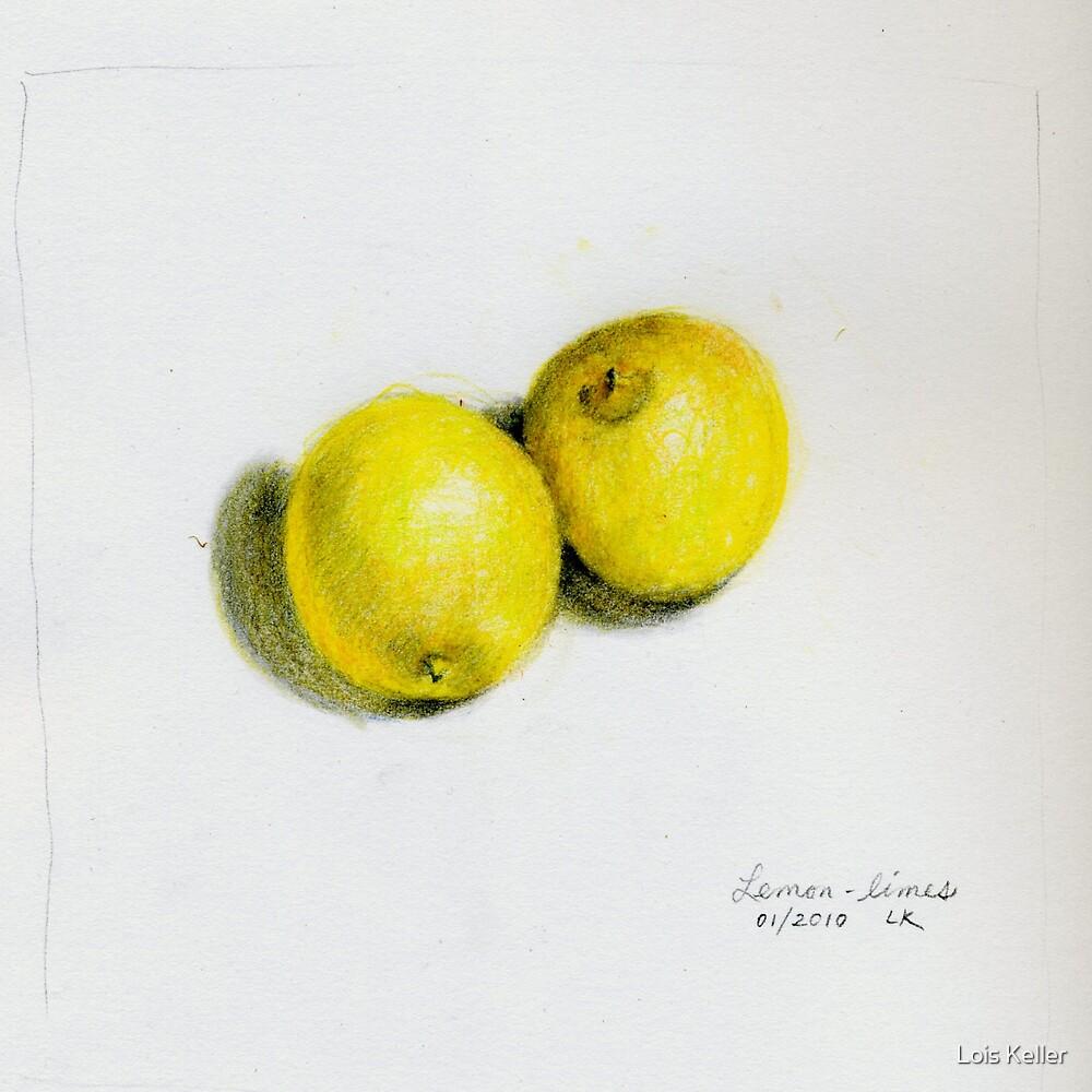 Lemon limes by Lois Keller