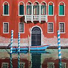 Venice reflections by Freda Surgenor