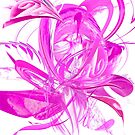 Ice Pink Flower by mjvision Mia Niemi by mjvisiondesign