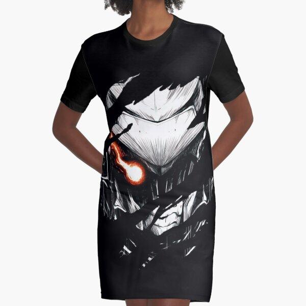 Anime Goblin Slayer Graphic T-Shirt Dress