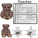 Character Sheet--Peaches by CarrowBrown