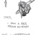 Once I Saw a Bee Drown in Honey... by morganhessart