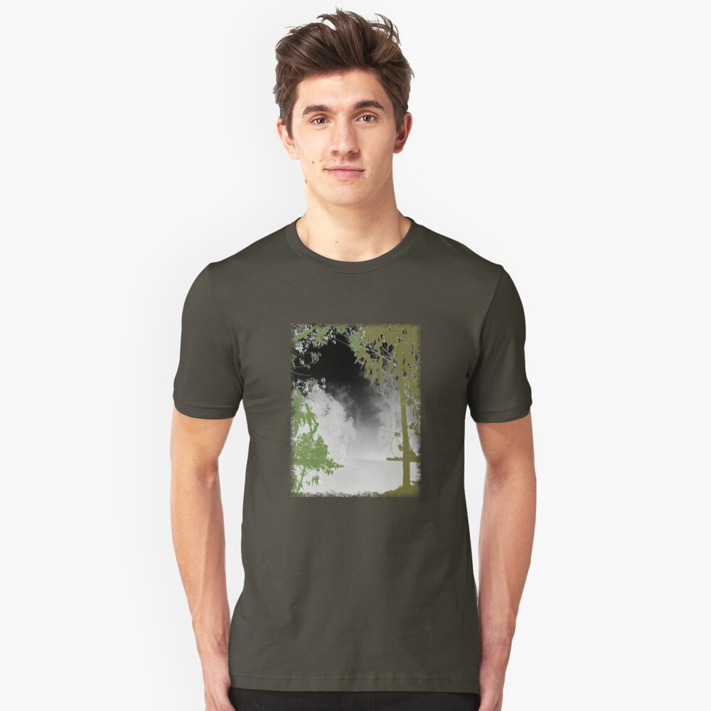 Eucalypts in the Fog Unisex T-Shirt Front