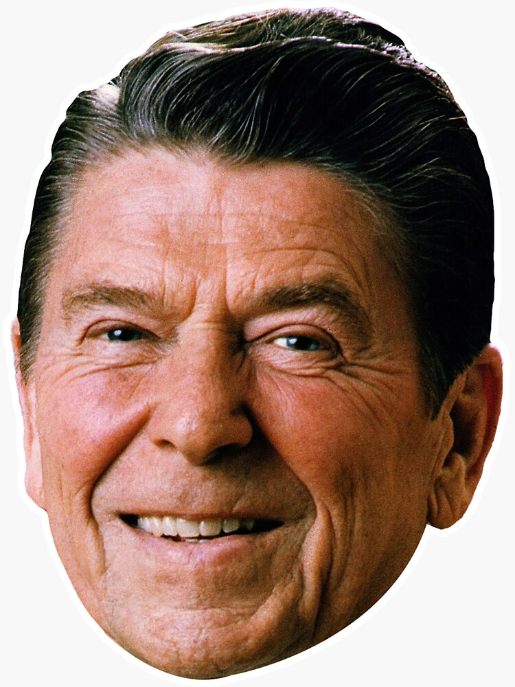 Ronald Reagan by LucasTheChin