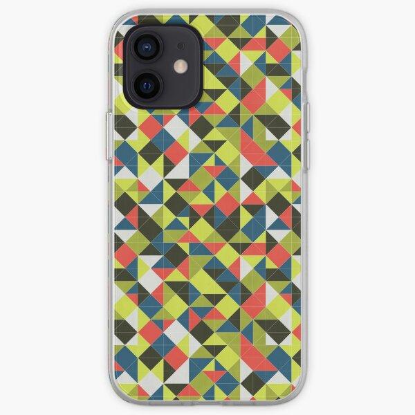 Harper Grid - Bright iPhone Soft Case