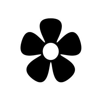 Black Flower by foxietoo