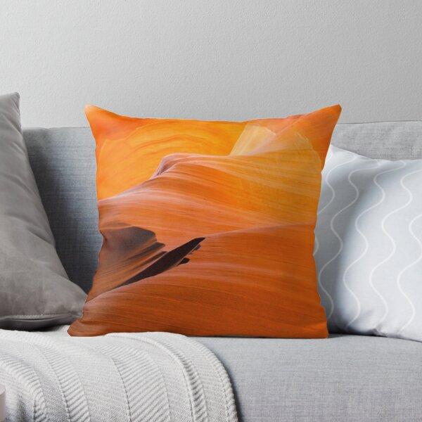 Burnt Orange Throw Pillow