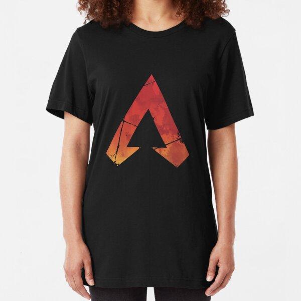 Apex Legends Logo | Apex Legends Watercolor Symbol Slim Fit T-Shirt