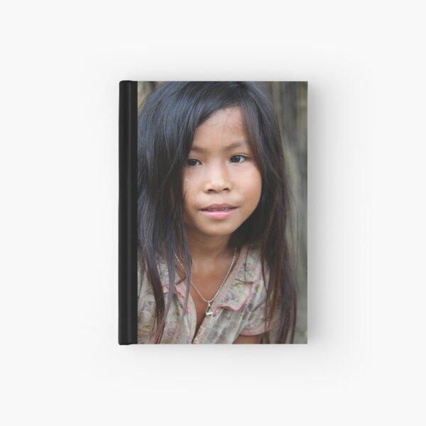 Lao girl Hardcover Journal