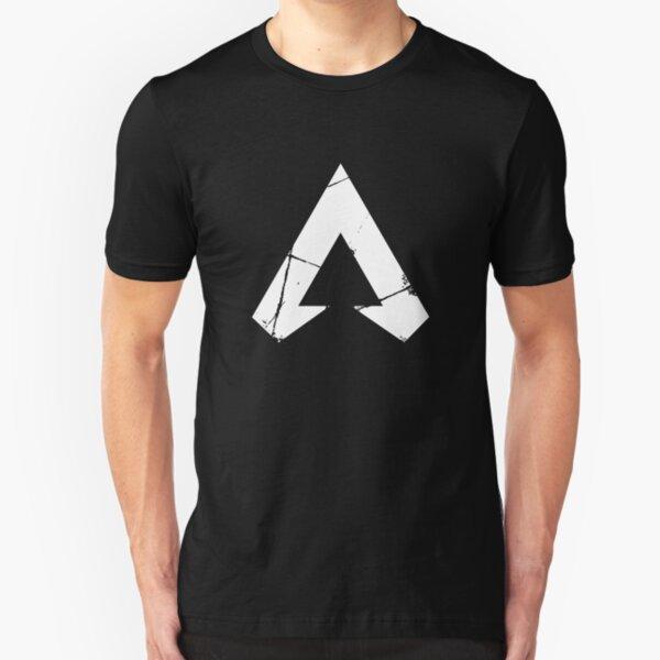 Apex Legends Logo | Apex Legends White Symbol Slim Fit T-Shirt