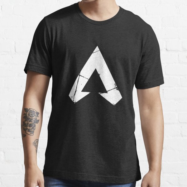 Apex Legends Logo | Apex Legends Símbolo Blanco Camiseta esencial