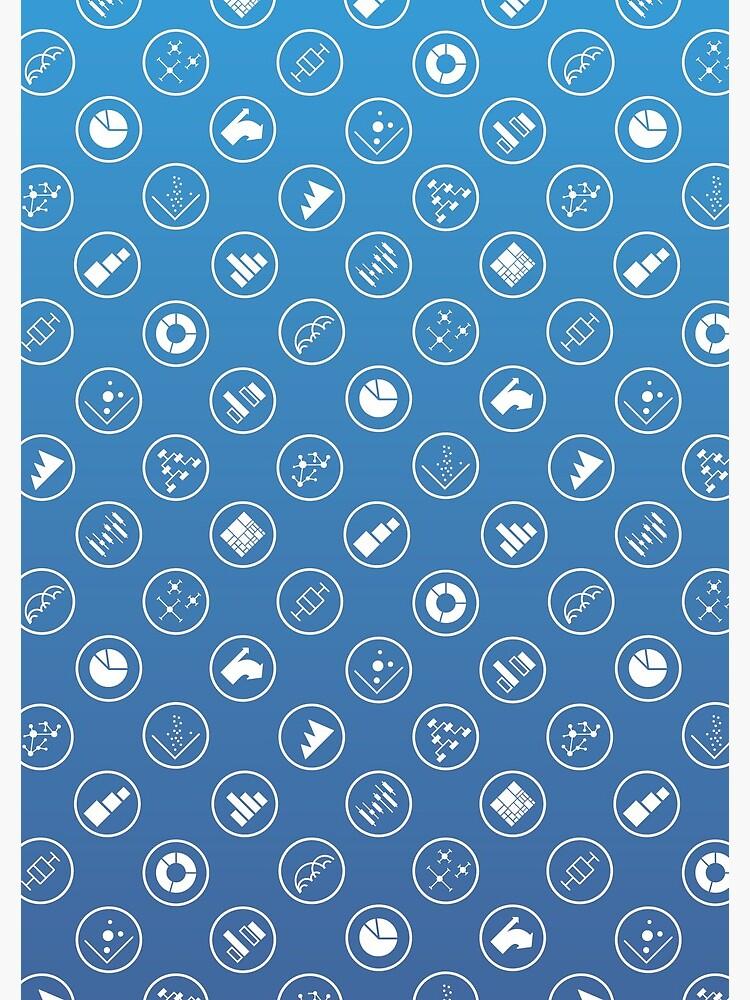 Dataviz Icons Notepad by DataVisCatalog