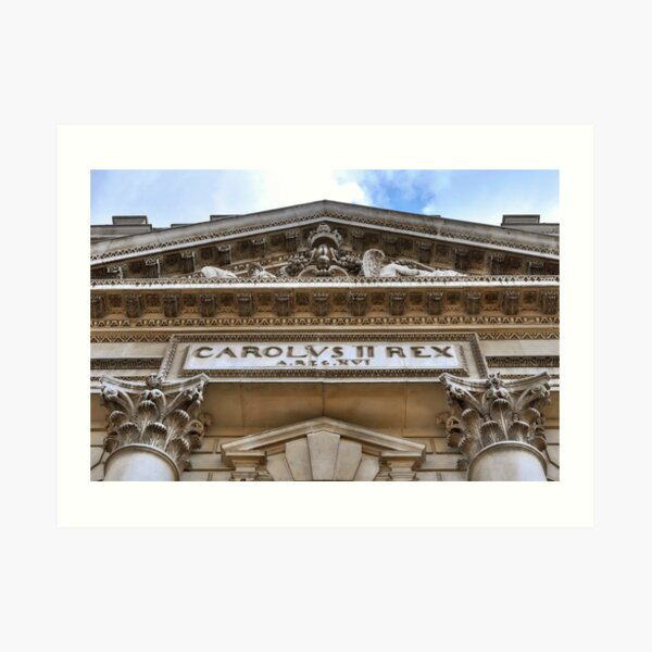 University of Greenwich Art Print