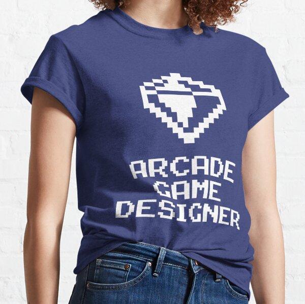 Arcade Game Designer, 8-bit Game DevelopmentTool Classic T-Shirt