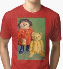 Teddy Bears with Attitude 2 Tri-blend T-Shirt
