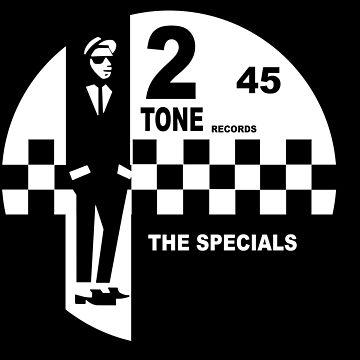 2 Tone Records Shirt - The Specials Label de RatRock