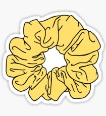 Scrunchie Sticker