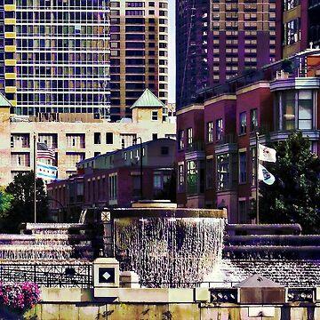 Chicago IL - Centennial Fountain by SudaP0408