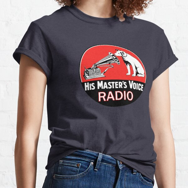 His Masters Voice Shirt, sticker, Mask Classic T-Shirt